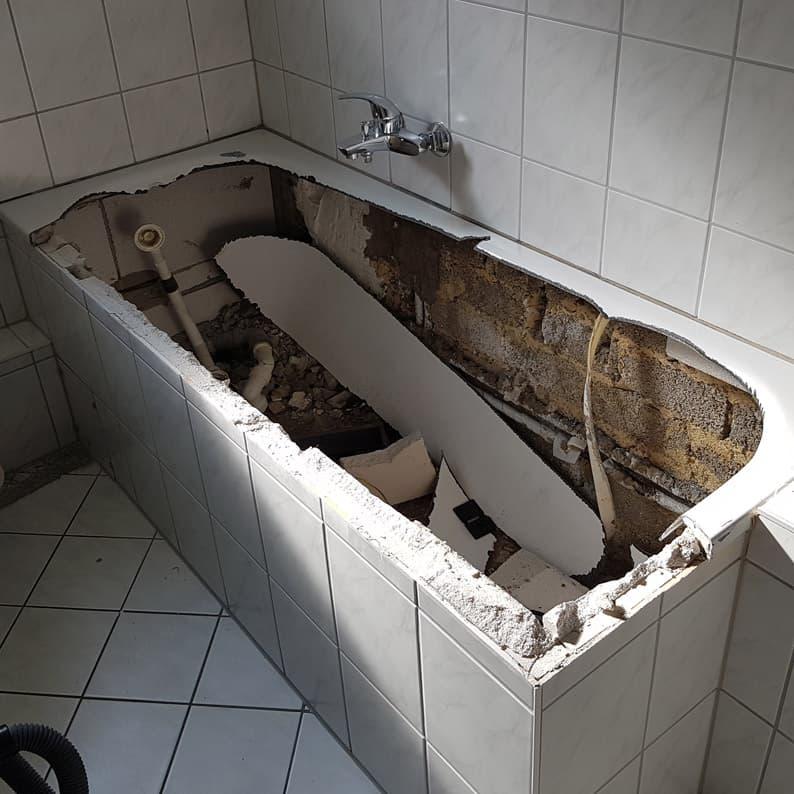 Badewannenaustausch ohne Fliesenschaden in Bochum, Dortmund ...