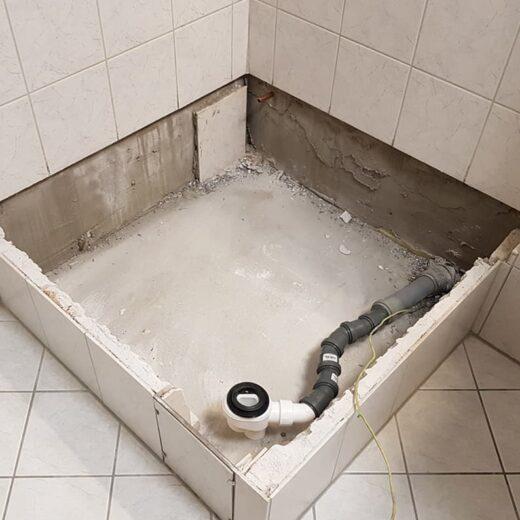 duschwanne erneuern